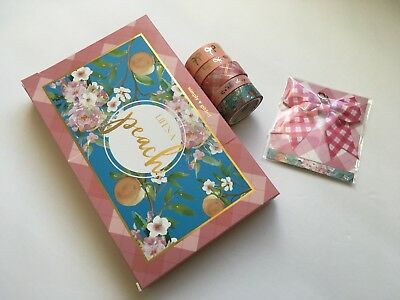 Simply Gilded May 2018 Partial Sub Box Used Washi Set And BNIP Bow Charm