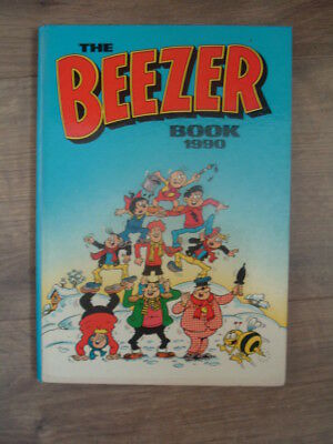 The Beezer Annual Book 1990 Unclipped