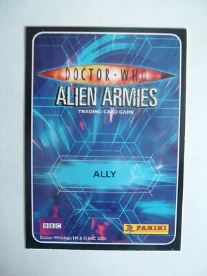 Doctor Who  Alien Armies  ALLY    Pk 1
