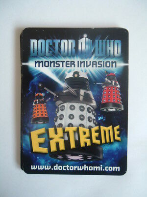 Doctor Who  Monster Invasion  Extreme    Pk 16