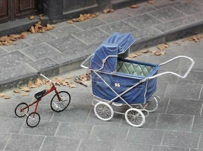 ROYAL MODEL #731 Pushchair & Tricycle for Diorama in 1:35