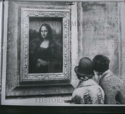 1962 Press Photo The Mona Lisa painting will leave Paris for a visit in the U.S.