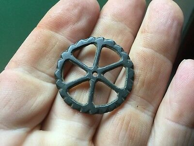 Ancient Or Early Medieval Bronze Wheel/Amulet