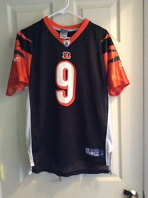 Cincinnati Bengals  9 Carson Palmer Football Jersey Size Youth XL (18 20) 6aaf119b8