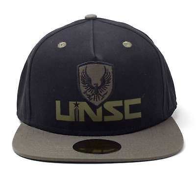 Halo Baseball Cap UNSC Embroidery Patch Logo new Official Xbox Black  Snapback 7f36e96d6d9b