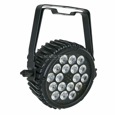 Showtec - Compact Par 18 MKII Black 18 x 3W RGB-in-1 LED