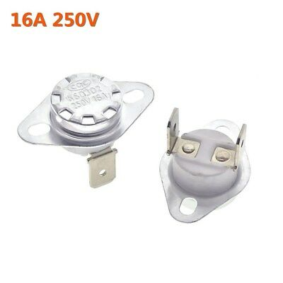16A 250V Temperature Switch Control Sensor Thermal Thermostat 40°C-180°C KSD302