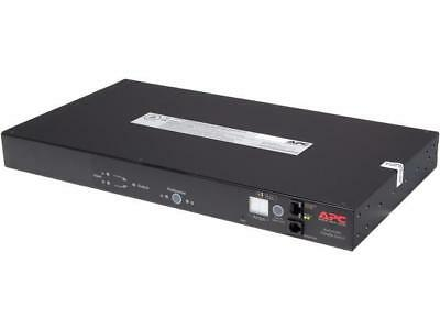 APC AP7750A Network Managed Rack ATS - 100-120V, 15A, 10 Outlets