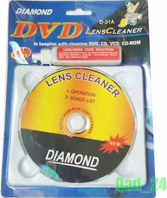 Laser Lens Cleaner Cleaning Kit Wet for PS3 XBOX 360 BLU RAY DVD PLAYER CD DISC