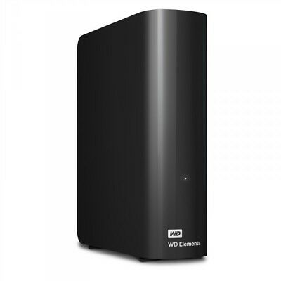 Western Digital WD Elements Desktop Festplatte 3,5´´ extern, USB 3.0, 4 TB,