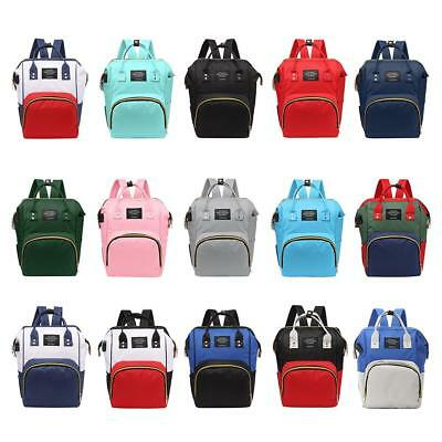 Mummy Maternity Nappy Diaper Bag Large Capacity Baby Bag Travel Backpack USB