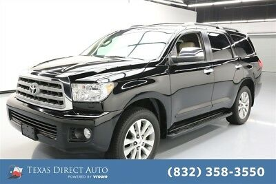2016 Toyota Sequoia Limited Texas Direct Auto 2016 Limited Used 5.7L V8 32V Automatic RWD SUV