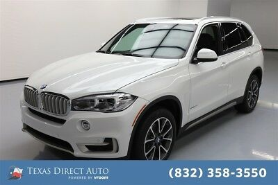 2018 BMW X5 sDrive35i Texas Direct Auto 2018 sDrive35i Used Turbo 3L I6 24V Automatic RWD SUV Premium