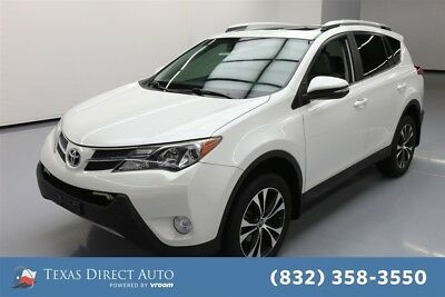 2015 Toyota RAV4 Limited Texas Direct Auto 2015 Limited Used 2.5L I4 16V Automatic FWD SUV Moonroof