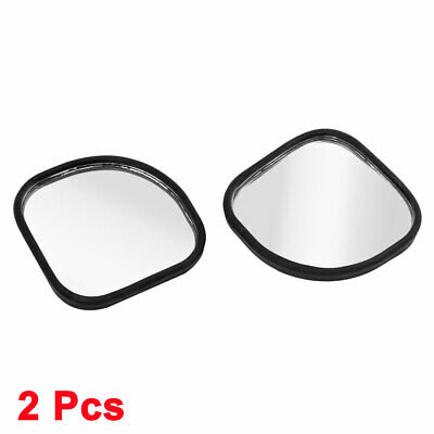 2pcs Section Shape Car Wide Angle Convex Rear View Auxiliary Blind Spot Mirror