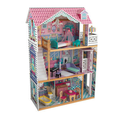 Annabelle Dollhouse with 17-Piece Furniture Set by KidKraft
