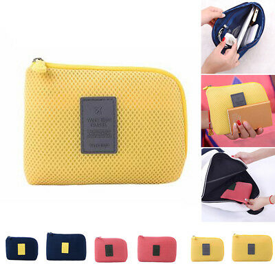 Cable Organizer Bag Data Sleeve Travel Q Storage Phone Z1 Outdoor Shakeproof
