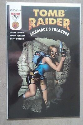 Tomb Raider Scarface's Treasure DF Dynamic Forces Top Cow Image comics COA