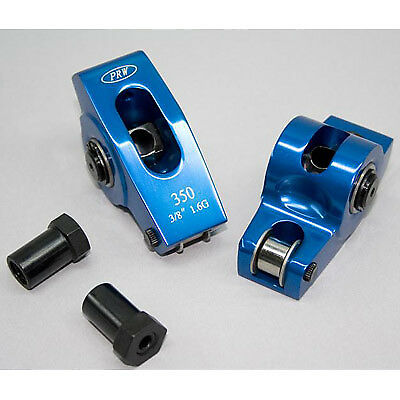 """PRW 0335019 Alum Roller Rockers Chevy Small Block 1.5 3/8"""" S/A"""