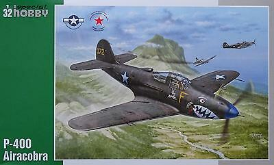 SPECIAL HOBBY 32062 US Army P-400 Airacobra in 1:32 LIMITED!