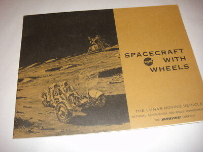 Rare!! Nasa Spacecraft With Wheels The Lunar Roving Vehicle The Boeing Company