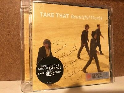 Take That CD Album (HAND SIGNED + AUTOGRAPH by Mark Owen) SPECIAL EDITION