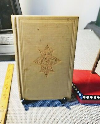 1953 Ritual of the Order of the Eastern Star book with documents