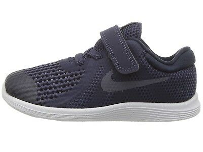 Nike Toddler s Revolution 4 (TDV) Running Shoes 943304 501 Indigo Light  Carbon 9d5bc9bde