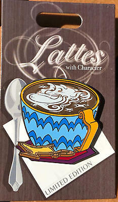 Disney Parks  LATTE with Character Pin  Aladdin's GENIE  LE 3000   NEW
