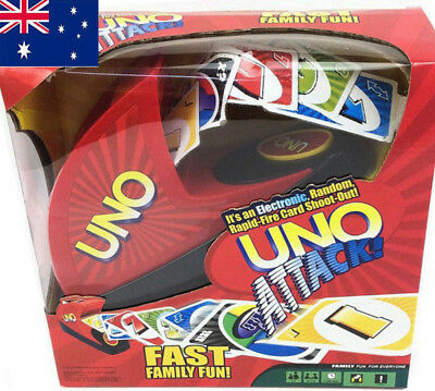AU UNO Attack Card Game Children Adults Party Game Board Game Set