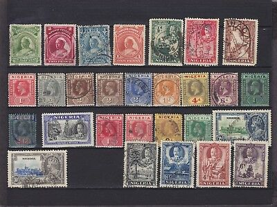 Nigeria QV - KGV Used Collection