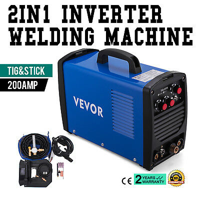 TIG-205S 200A TIG Stick ARC DC Welder Portable Stable Dual Voltage FREE SHIPPING