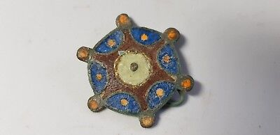Roman Enamelled Plate Brooch 2nd-3rd century AD