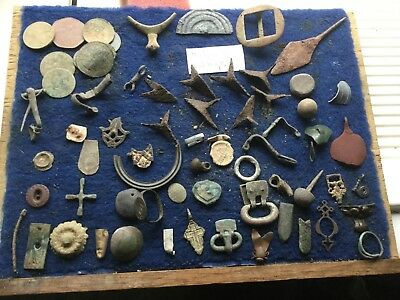 Large Lot Of Dug Up Artefacts