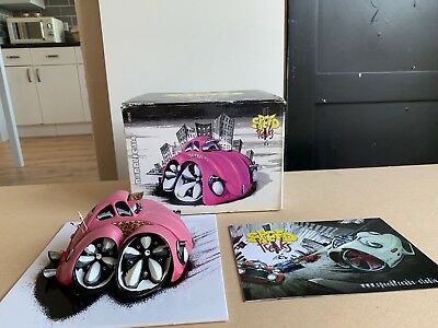 Speed Freaks Bubblegum Pink Volkswagen Beetle Country Artists Boxed Ltd Edition