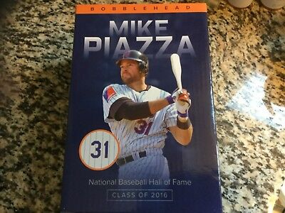 Hall of Fame- Mike Piazza bobble head collectible