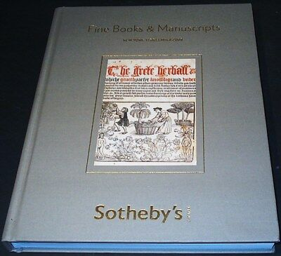 BOOKS & MANUSCRIPTS - Sotheby's gr. Hardcover N.Y. 08 +results