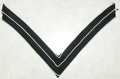 M1872 US Army Infantry CPL Corporal Chevron on Dark Blue / Black for Overcoat