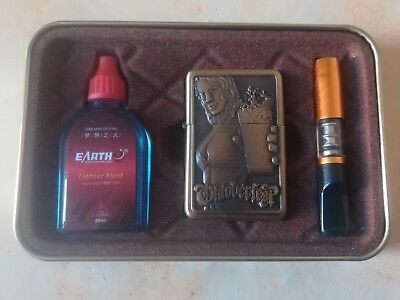 Briquet A Essence Style Zippo 3 Pieces En Coffret