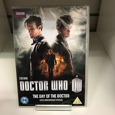 Doctor Who: The Day Of The Doctor  DVD - New and Sealed Fast and Free Delivery