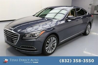 2017 Genesis 3.8L Texas Direct Auto 2017 3.8L Used 3.8L V6 24V Automatic RWD Sedan