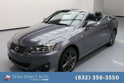 2015 Lexus IS  Texas Direct Auto 2015 Used 2.5L V6 24V Automatic RWD Convertible Premium