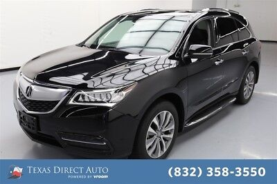 2015 Acura MDX Tech Pkg Texas Direct Auto 2015 Tech Pkg Used 3.5L V6 24V Automatic AWD SUV Premium
