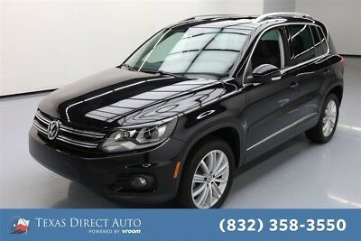 2016 Volkswagen Tiguan SE Texas Direct Auto 2016 SE Used Turbo 2L I4 16V Automatic AWD SUV Moonroof