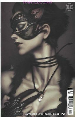 Catwoman #4 Stanley Lau Artgerm Variant Cover Dc Comic Book New 1 Oct 2018