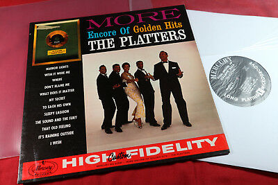The Platters  MORE ENCORE OF GOLDEN HITS  -  LP Mercury MG 20591 USA sehr gut