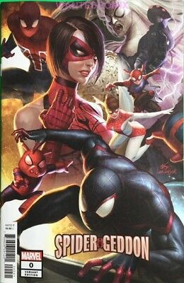 Spidergeddon #0 Lee Connecting Variant Cover Spider Geddon New 2018 Nm 1 Marvel