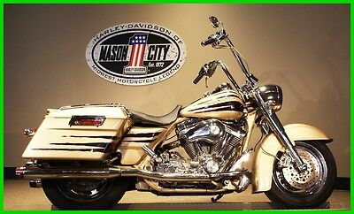 2003 Touring  2003 Harley-Davidson FLHRSEI Road King CVO Centennial Gold SEE OUR VIDEO!