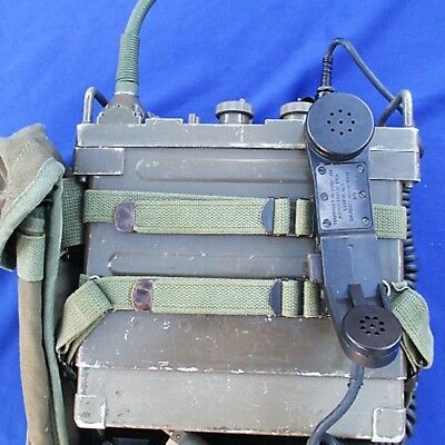Military Radio Prc-77 Tested In Working Order Australia United States Rar - Rare
