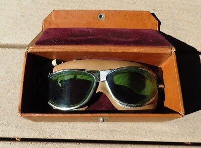WW2 USAAF US Army Air Force American Optical Look Out Goggles
